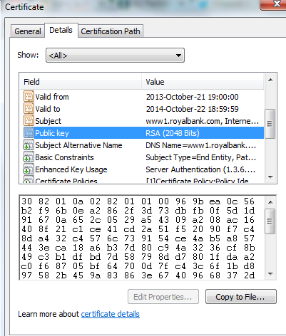 2048 bit encryption how long to crack a 256