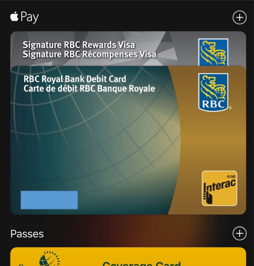 RBC And CIBC Add Debit And Credit Cards To Apple Wallet In